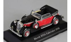 1:43 Horch 853A Cabriolet, schwarz/rot 1938, масштабная модель, 1/43, Altaya