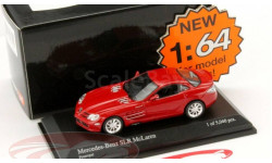 1:64 Mercedes SLR McLaren Year 2003 red L.Е.5040pcs., масштабная модель, 1/64, Minichamps, Mercedes-Benz