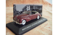 1:43 Hotchkiss Antheor Convertible 1953 darkred