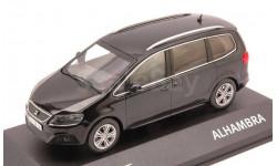 1:43 Seat Alhambra, schwarz 2010, масштабная модель, 1/43, FISCHER