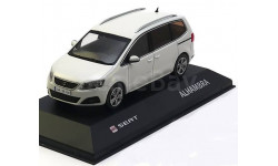 1:43 Seat Alhambra, weiss 2010