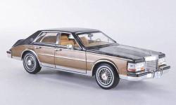 1:43 Cadillac Seville MKII Elegante, met.-dkl.-grau/gold 1980 L.E.750 pcs RAR, масштабная модель, 1/43, Premium X