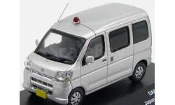 1:43 DAIHATSU HIJET MINIBUS JAPAN UNMARKED POLICE CAR 2009, масштабная модель, 1/43, J-Collection