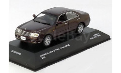 1:43 Nissan Gloria Ultima Z 2001 darkred-metallic V Package L.E.1200 pcs., масштабная модель, 1/43, J-Collection