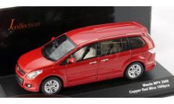 1:43 Mazda MPV Year 2006 auburn metallic L.E.1008 pcs., масштабная модель, 1/43, Kyosho/J-Collection