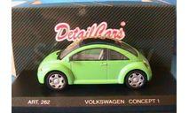 1:43 VW New Beetle Concept 1 1994 grün RAR, масштабная модель, 1/43, Revell, Volkswagen