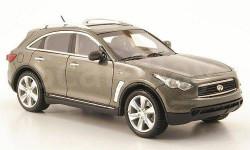 1:43 Infiniti FX50 S met.-grey 2010 L.E.300 pcs. RAR, редкая масштабная модель, 1/43, Neo Scale Models