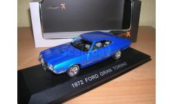 1:43 Ford Gran Torino, met.-blau 1972 L.E.500 pcs. RAR, масштабная модель, 1/43, Premium X