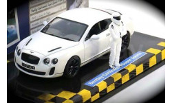 1:43 Bentley Continental Super Sports matt-white Top Gear, масштабная модель, 1/43, Minichamps