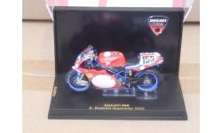 1:24 Ducati 998 2002 Bostrom Superbike, масштабная модель мотоцикла, 1/24, IXO мотоциклы