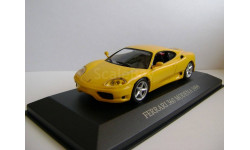 1:43 Ferrari 360 Modena Coupe 1999 yellow