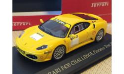 1:43 Ferrari F430 Challenge Fiorano Test 2005 yellow, масштабная модель, 1/43, IXO Ferrari (серии FER, SF)