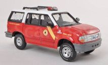 1:43 Ford Explorer XLT, Philadelphia Fire Department - Technical Support, Feuerwehr (USA) 1997, масштабная модель, 1/43, Del Prado