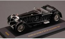 1:43 Daimler Double Six 50 Convertible 1931 black MUS040, масштабная модель, 1/43, IXO Museum (серия MUS)