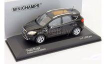 1:43 Ford Kuga 2008 black L.E.1008 pcs., масштабная модель, 1/43, Minichamps