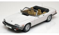 1:18 Jaguar XJ-S Convertible 1988 white, масштабная модель, 1/18, Autoart