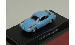 1:43 Fiat 750 Abarth Coupe Blue 1956, масштабная модель, 1/43, Starline
