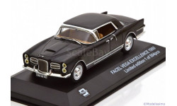 1:43 Facel Vega Excellence Year 1960 black L.E. 504 pcs., масштабная модель, 1/43, Triple9