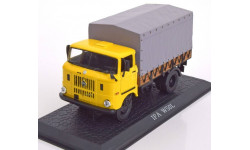 1:43 IFA W 50L pick up with canvas top yellow/grey #7167101