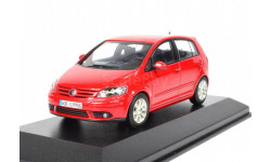 1:43 VW Golf 5 Plus 2005 redmetallic, масштабная модель, 1/43, Minichamps, Volkswagen