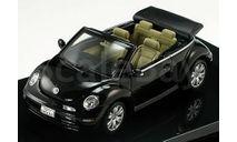 1:43 VW New Beetle convertible 2003 black, масштабная модель, 1/43, Autoart, Volkswagen