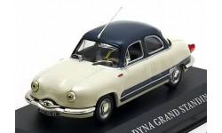 1:43 Panhard Dyna Grand Standing 1958 creme-white/blue