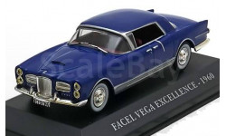 1:43 Facel Vega Excellence 1960 blue/silver