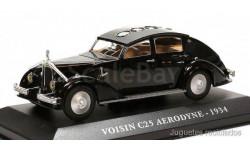 1:43 VOISIN C25 AERODYNE 1934 black, масштабная модель, 1/43, Altaya