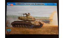 1:35 T26E4 Pershing  American Heavy Tank  (Late Production)  № 82428 + доп.наборные траки Dragon, сборные модели бронетехники, танков, бтт, Hobby Boss, scale35