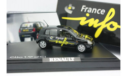1:43 Renault Clio 1.9 dCi France Info 517509, масштабная модель, 1/43, Norev