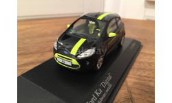 1:43 Ford Ka 'Digital' 2009 Black metallic L.E.1008 pcs RAR 400 088200, масштабная модель, 1/43, Minichamps
