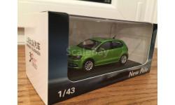 1:43 VW Volkswagen NEW Polo VW Shanghai, масштабная модель, scale43