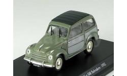 1:43 Fiat 500 Belvedere 1952 green/grey, масштабная модель, 1/43, Hachette