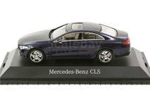 1:43 Mercedes-Benz CLS coupe (C257) 2018 cavansite blue metallic B66960543, масштабная модель, 1/43, Norev