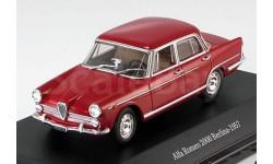 1:43 Alfa Romeo 2000 Berlina 1957 rot, масштабная модель, 1/43, Starline