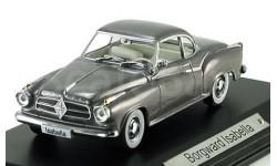1:43 Borgward Isabella greymetallic #7129105 DDR-Auto, масштабная модель, 1/43, Atlas