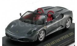 1:43 Ferrari F430 Spider, grau-met. 2005, масштабная модель, 1/43, IXO Ferrari (серии FER, SF)