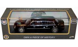 1:43 Cadillac Presidential State Car, schwarz 2009, масштабная модель, 1/43, Luxury Diecast (USA)