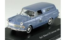 1:43 Opel Rekord P2 Caravan, NSU Quickly Dienst 1960 RAR, масштабная модель, 1/43, Starline