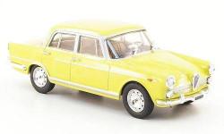 1:43 Alfa Romeo 2000 Berlina, hellgelb 1957, масштабная модель, 1/43, Starline