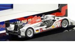 1:43 Audi R15 TDI #1  Presentation Car 24h LeMans 2009 silver LMM181