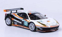 1:43 Ferrari 458 Italia GT2, No.89, Farnbacher Racing, 24h Le Mans 2011 L.E.5000pcs.