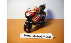 MOTO GP 1-18 NewRay 2006г, масштабная модель мотоцикла, scale18, Honda № 26