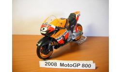 MOTO GP 1-18 NewRay 2008г, масштабная модель мотоцикла, scale18, Honda № 2