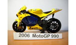 MOTO GP 1-18 NewRay 2006г, масштабная модель мотоцикла, scale18, Yamaha № 46