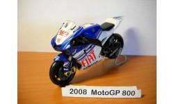 MOTO GP 1-18 NewRay 2008г, масштабная модель мотоцикла, scale18, Yamaha № 99
