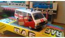 РАФ 22031 Скорая помощь,1989, СССР, в коробке, масштабная модель, scale43