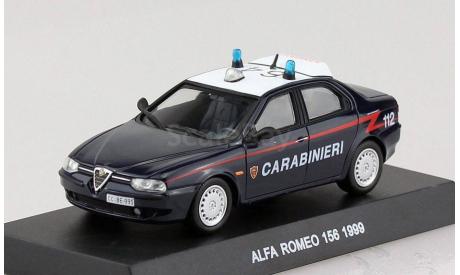 Alfa Romeo 156 Carabinieri 1999 DeAgostini, масштабная модель, 1:43, 1/43