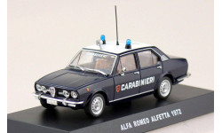 Alfa Romeo Alfetta Carabinieri 1972 DeAgostini