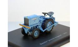 Bauche ''pousse-wagons'' 1957 Hachette, масштабная модель трактора, 1:43, 1/43